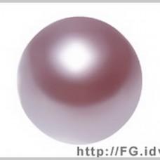 6mm施華洛5810水晶珍珠352粉金薔薇10個