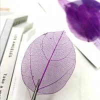 網葉-金剛葉-紫色-押花材料