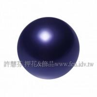 3mm施華洛5810水晶珍珠818夜藍珍珠-100個