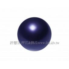 8mm施華洛5810水晶珍珠309紫羅蘭色-10個