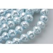 10mm捷克水晶珍珠-扭轉圓 (4)