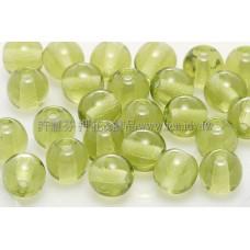 捷克圓形珠6mm明綠色