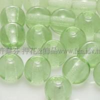 捷克圓形珠6mm翠橄欖綠
