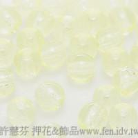 捷克圓形珠4mm黃水仙色-50個