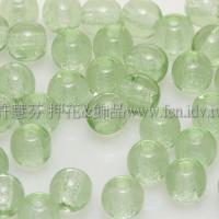捷克圓形珠4mm翠橄欖綠-50個