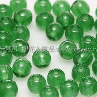 捷克圓形珠4mm森林綠-50個