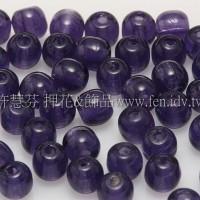 捷克圓形珠4mm丁香紫-50個