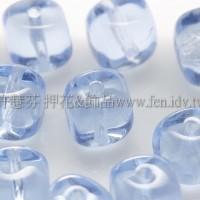 捷克方形珠珠5mm蔚藍色-20個