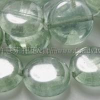 12mm扁圓形珠-冰晶草原綠