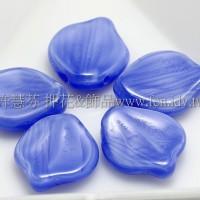 12*15牡丹葉珠-鼠尾草藍色