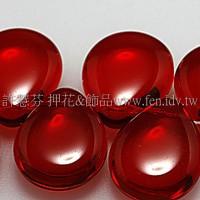 12*16胖水滴形珠_泰國紅寶石