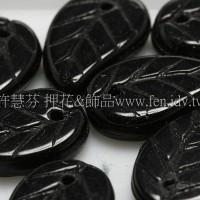 捷克綜合珠-14-9mm黑色