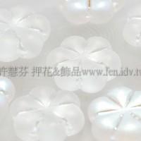 捷克綜合珠-13mmAB水晶色