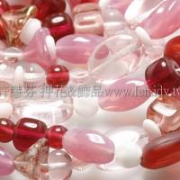 珠寶樂園-粉色愛情系列混合珠