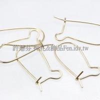 簡易法式耳針金