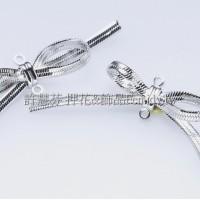 線面蝴蝶結-連接配件正白