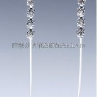 水鑽單管金屬-連接配件正白