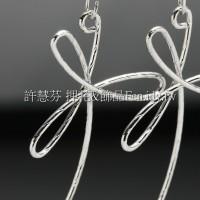 花瓣搖曳耳環配件代白