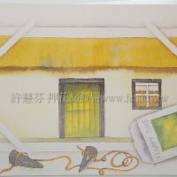 日本進口紙明信片田園系列4