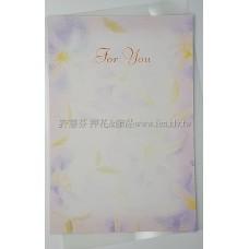 日本進口紙明信片花瓣紋系列
