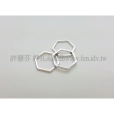 12mm六角形圈-1包-1個