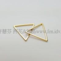 20x20mm三角形圈-1包-1個
