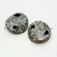 3221施華洛雙洞波卡18mm大理石紋-1個