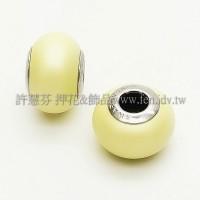 施華洛Becharmed 迷人串珠14mm- 溫暖黃色-1個