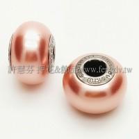 施華洛Becharmed 迷人串珠14mm- 玫瑰桃紅-1個