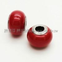 施華洛Becharmed 迷人串珠14mm- 紅珊瑚-1個