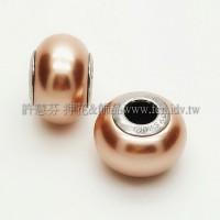 施華洛Becharmed 迷人串珠14mm-古銅色-1個