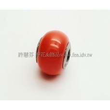 施華洛Becharmed 迷人串珠14mm-珊瑚菊色-1個
