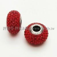 施華洛Becharmed-圓14mm-紅色-1個