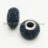 施華洛Becharmed  圓14mm-藍色-1個