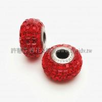 施華洛Becharmed 大方14mm-紅色-1個
