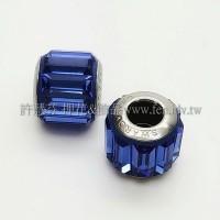 施華洛Becharmed長方14mm-藍色-1個