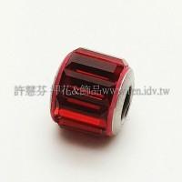 施華洛Becharmed長方14mm-大紅-1個