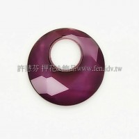 6041施華洛勝利女神18mm古典紫光-1個