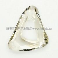 施華洛帆式三角27x33mm月光-1個