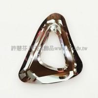 施華洛帆式三角27x33mm古典銅-1個