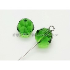 5026施華洛栗子珠10mm橄欖綠-2個