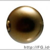 3mm施華洛5810水晶珍珠402金橄欖綠-100個
