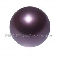 3mm施華洛5810水晶珍珠301酒紅珍珠-100個