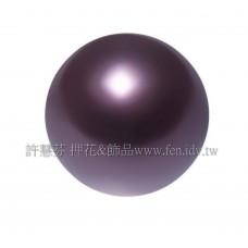 4mm施華洛5810水晶珍珠301酒紅珍珠80個