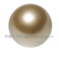 6mm施華洛5810水晶珍珠295古銅珍珠-10個