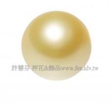 6mm施華洛5810水晶珍珠296金黃色-10個