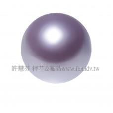 12mm施華洛5810水晶珍珠160淡紫色-2個