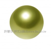 3mm施華洛5810水晶珍珠293黃綠色-100個