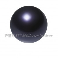 6mm施華洛5810水晶珍珠309紫羅蘭色-10個