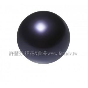 10mm施華洛5810水晶珍珠309_紫羅蘭色/1包/10個